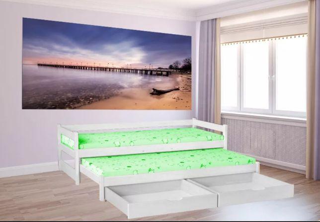 Łóżko podwójne wysuwane TOMEK 180 x 80 MEGA PROMOCJA- 529 zł