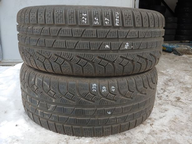 2X opony zimowe Pirelli 225/50/17 MONTAŻ Reda