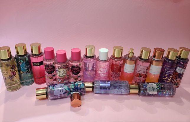 Оригінальні парфумовані спреї для тіла від Victoria's Secret