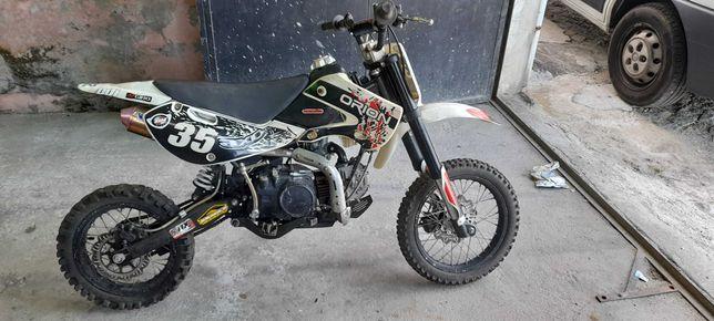 Vendo pit bike 150 orion ou troco por outra mota