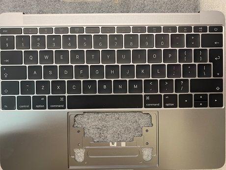 "Klawiatura + Topcase Apple MacBook 12"" A1534"