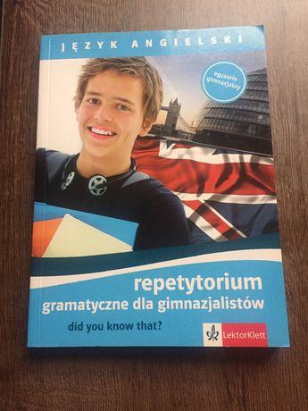 Repetytorium gramatyczne - język angielski