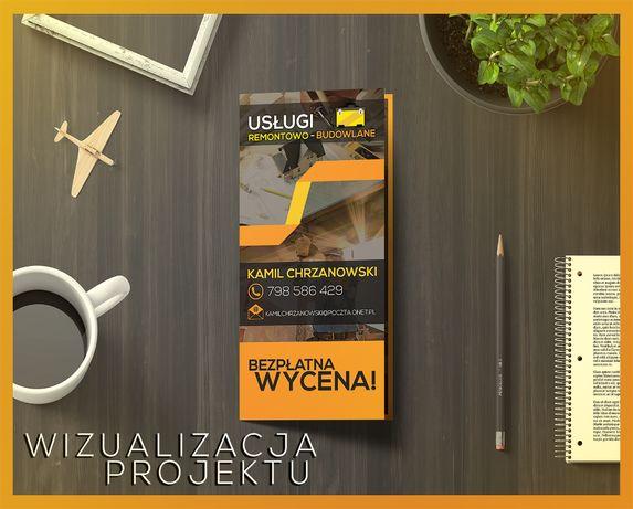 Projektowanie wizytówek, plakatów, broszur, ulotek, banerów etc.