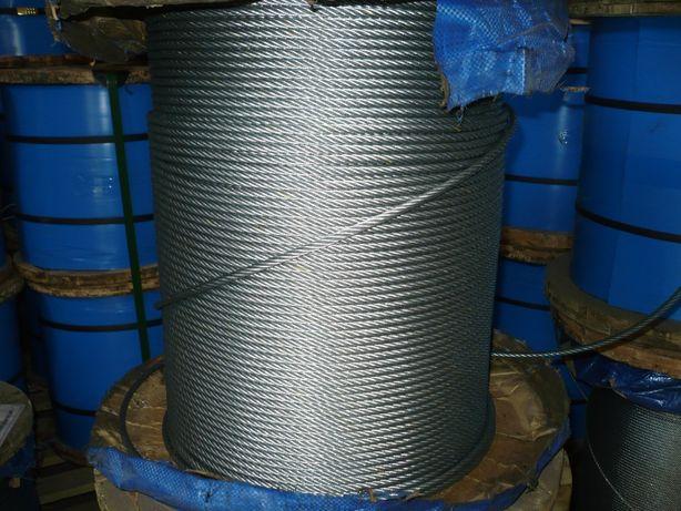 lina stalowa 12 mm ws zgarniacz obornika wyciąg