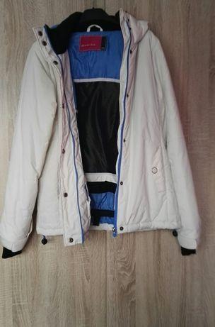 Biała kurtka zimowa Diverse