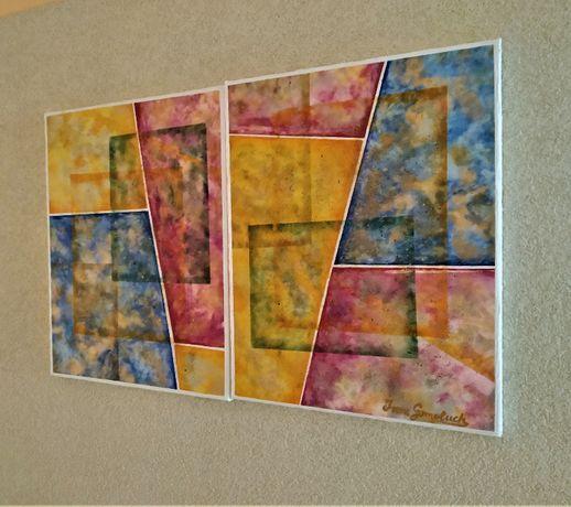 Obraz malowany na płótnie 80x50