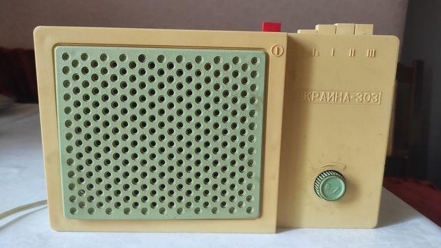 Радио Украина-303 трехпрограмное ретро СССР