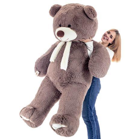 Большой плюшевый медведь/мишка/тедди/teddy 2 м Капучино
