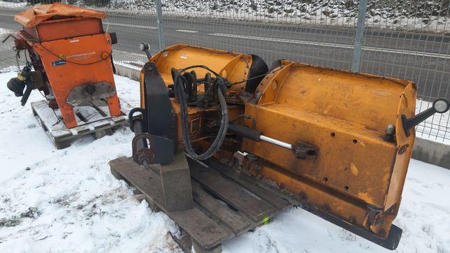 pług do śniegu V hydrauliczny posypywarka piaskarka Rauch