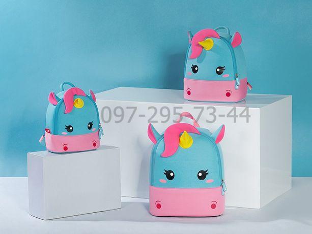 Детский 3d рюкзак из неопрена Nohoo Единорог