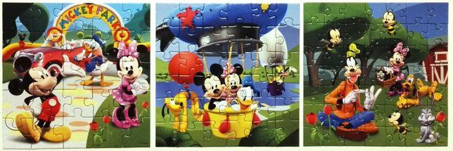 mickey mouse clubhouse ravensburger disney puzzle puzle układanka