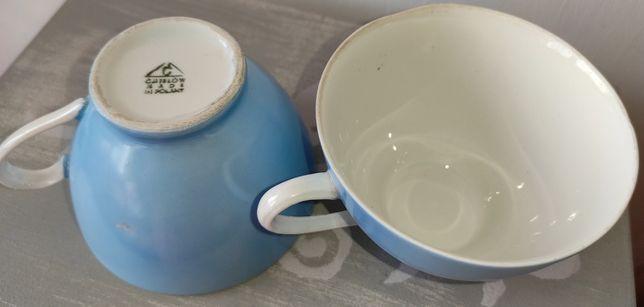 Porcelana Ćmielów- filiżanki lata 60-te Feston W. Potacki-2 szt