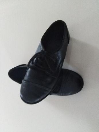 ZARA Pantofle skórzane rozm. 32