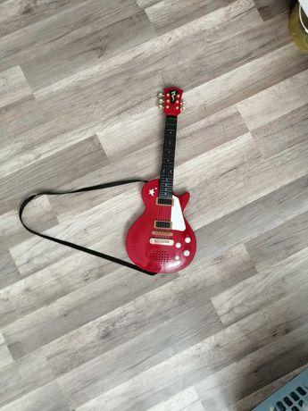 Gitara zabawka dla dziecka