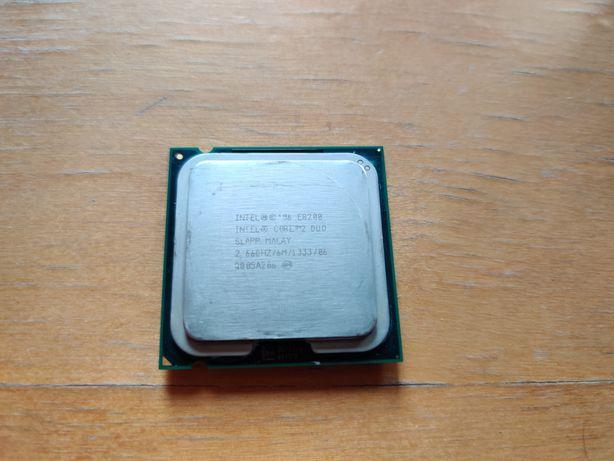 CPU Intel Core 2 Duo E8200 + chłodzenie