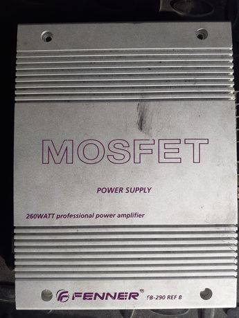 Amplificador Fenner Mosfet 260W (ler descrição)