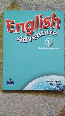 Książka nauczyciela English Adventure 1 wyd. Pearson