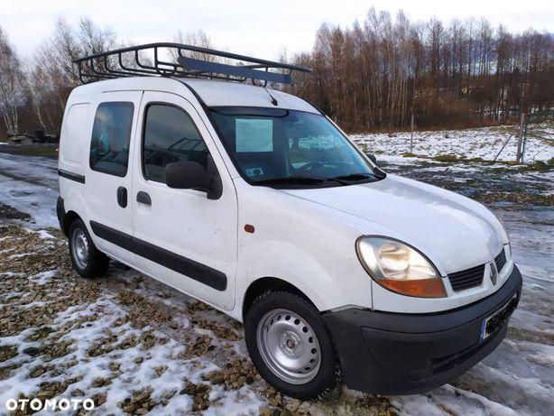 Renault Kangoo Doinwestowane,Bagażnik dachowy, HAK. Niski przebieg