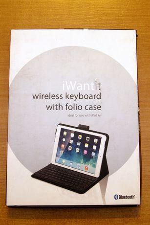 Bezprzewodowa klawiatura Bluetooth + Etui iPad Air