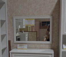 Зеркало в МДФ профиле Salerno, Gerbor LUS-86 (Салерно, Гербор)