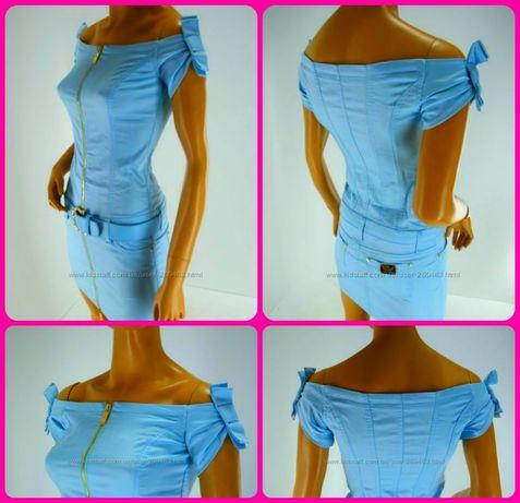 Платье джинсовое Сарафан, р-р L 46-48
