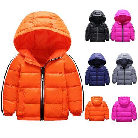 Модная весенняя куртка, 4 цвета, унисекс, 80-120см