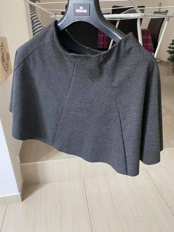 Spódnica Zara w kolorze zimniej stali