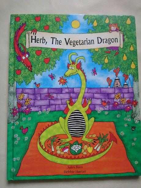 Дитяча книга Herb, The Vegetarian Dragon на англійській мові