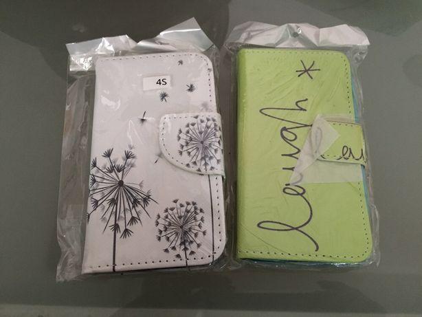 Vendo ou troco capas iPhone 4/4s novas