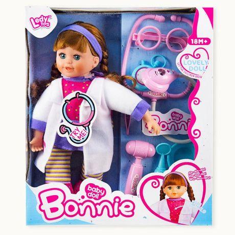 Кукла музыкальная Bonnie с набором доктора