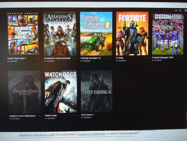 GTA V , Watch dogs , assassin's  i inne  PC
