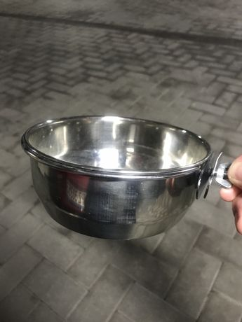 Miska na wode lub pokarm do klatki dla psa lub kota