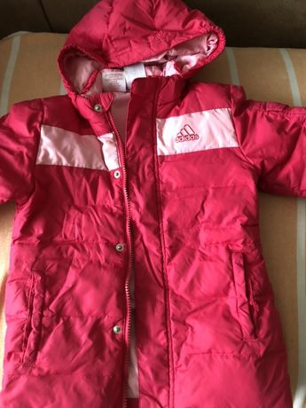 Курточка adidas на девочку оригинал