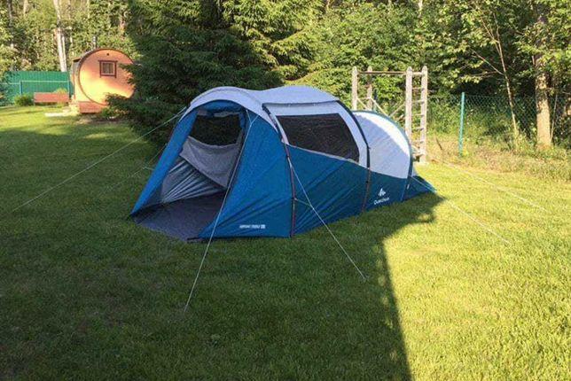 Палатка 4х местная. Декатлон.