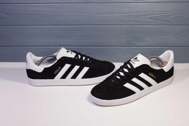 535 Кроссовки Adidas Gazelle (41,43,44) - Вьетнам, Замша, черные, ТОП