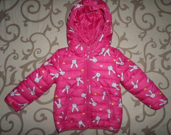 В сост.НОВОЙ! Очень красивая куртка курточка на девочку 2-3г 92-98см