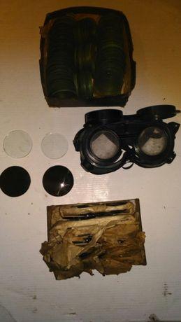 Filtr szkło okularów gogli spawalniczych spawanie gazowe