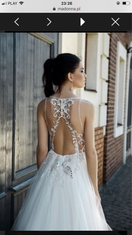 Suknia ślubna Catarina cordas Madonna