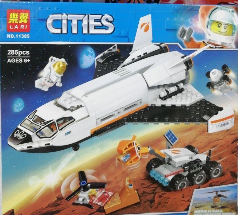 Конструктор Космос Bela (Lari) 11385 Шаттл для исследований Марса Днепр - изображение 1