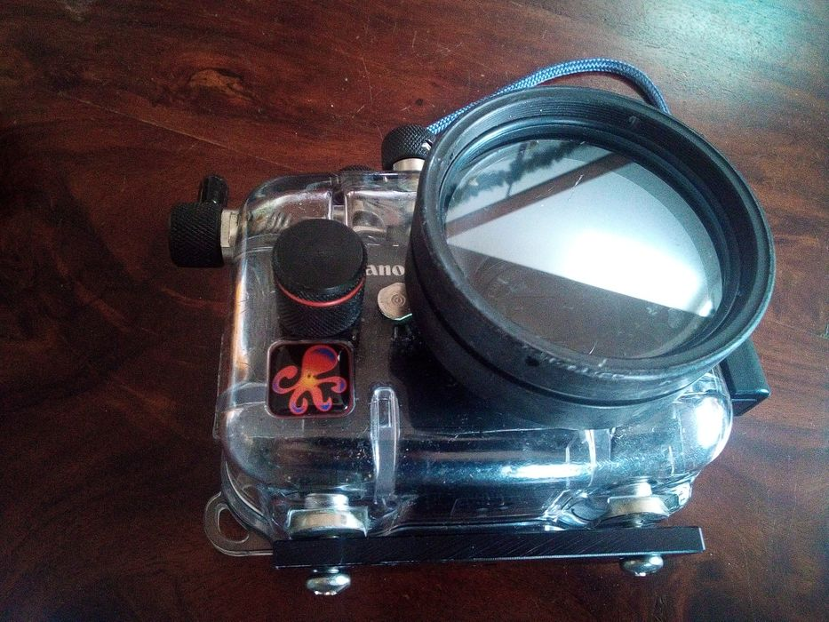 Nurkowanie Aparat Canon S95 + obudowa Ikelite 60 metrow! Lubin - image 1
