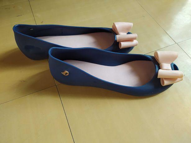 Gumowe balerinki