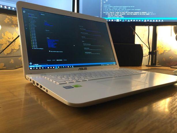 Ноутбук Asus X756UQ White