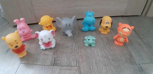Zabawki gumowe zwierzatka dla maluszka