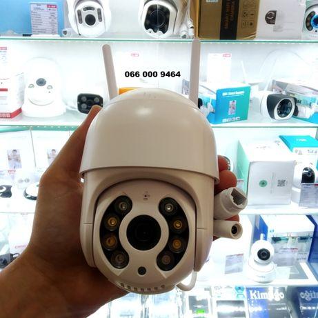 PTZ-D4 Уличная IP Wi-Fi камера видеонаблюдения купольная поворотная