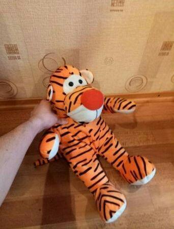 Мягкая игрушка Тигр из мультика