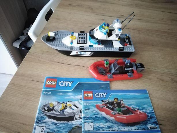 Lego city 60129 policyjna łódź patrolowa
