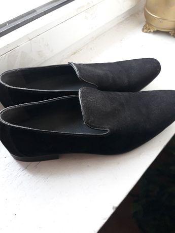 męskie buty czarne