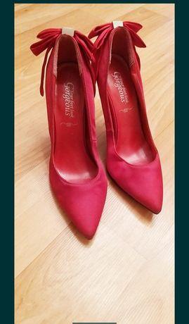 Лодочки красные New Look