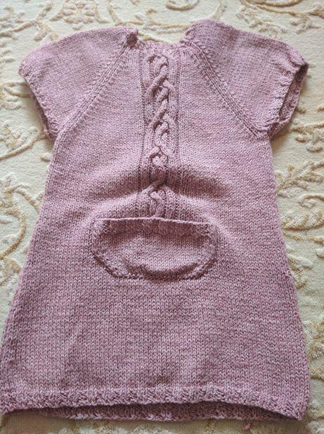 Туніка - плаття плетена