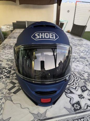 Capacete Shoei Neotec II + Sistema de comunicação